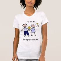 Chemo Bell - Stomach Cancer Woman T-Shirt