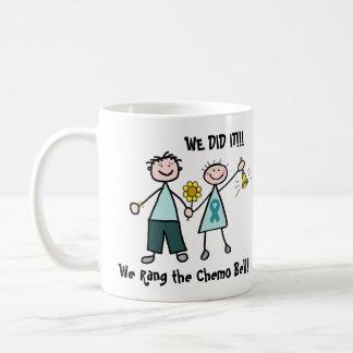 Chemo Bell - Teal Ribbon Coffee Mugs