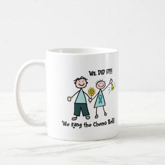 Chemo Bell - Teal Ribbon Coffee Mug