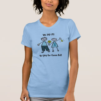 Chemo Bell - Teal Ribbon Tee Shirt