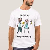 Chemo Bell - Uterine Cancer Teal Ribbon T-Shirt