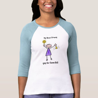 Chemo Bell - Violet Ribbon Woman T-shirts