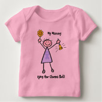 Chemo Bell - Woman General Cancer Baby T-Shirt