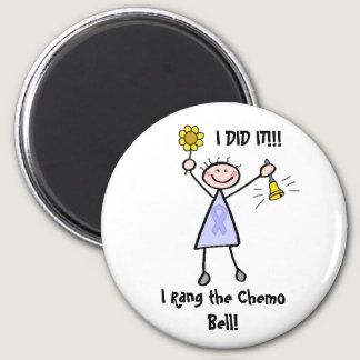 Chemo Bell - Woman General Cancer Magnet