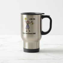Chemo Bell - Woman General Cancer Travel Mug