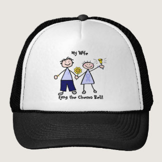 Chemo Bell - Woman General Cancer Trucker Hat