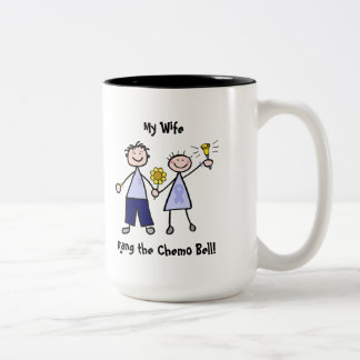 Chemo Bell - Woman General Cancer Two-Tone Coffee Mug