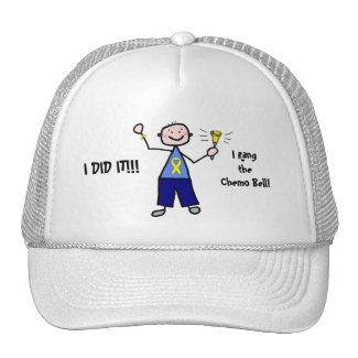 Chemo Bell - Yellow Ribbon hat