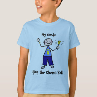 Chemo Bell - Yellow Ribbon Testicular Cancer T-Shirt