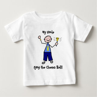 Chemo Bell - Yellow Ribbon Testicular Cancer T Shirt
