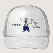 Chemo Bell - Yellow Ribbon Testicular Cancer Trucker Hat