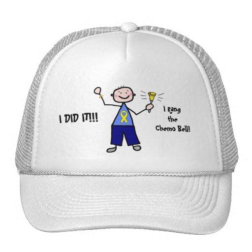 Chemo Bell - Yellow Ribbon Trucker Hat