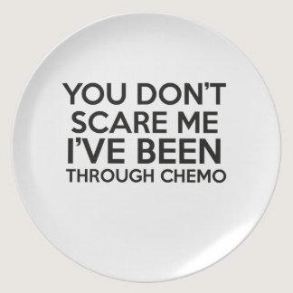 chemo cancer dinner plate