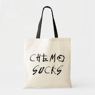 Chemo chupa bolsa tela barata