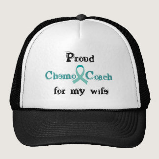 Chemo Coach - Cervical Cancer Trucker Hat