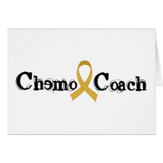 Chemo Coach - Childhood Cancer Gold Ribbon Card