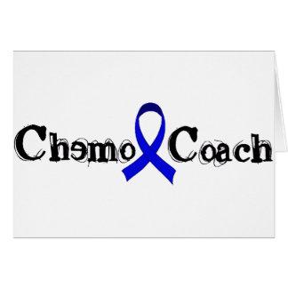 Chemo Coach - Colon Cancer Blue Ribbon Card
