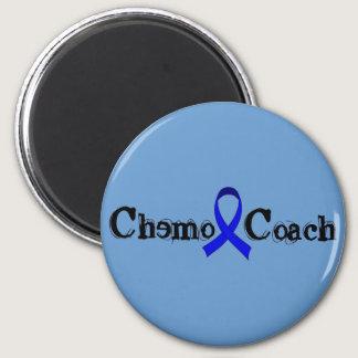 Chemo Coach - Colon Cancer Blue Ribbon Magnet
