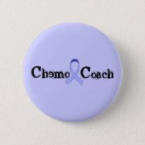 Chemo Coach - General Cancer Lavender Ribbon Button