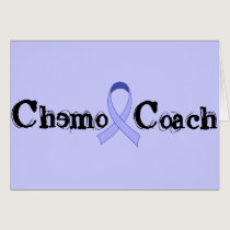 Chemo Coach - General Cancer Lavender Ribbon Card