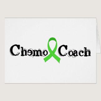 Chemo Coach - Green Ribbon Card