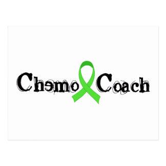 Chemo Coach - Green Ribbon Postcard