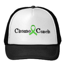 Chemo Coach - Green Ribbon Trucker Hat
