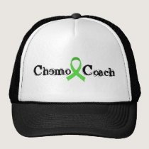 Chemo Coach - Green Ribbon Trucker Hat