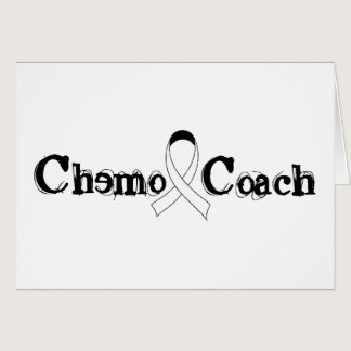 Chemo Coach - Lung Cancer White Ribbon Card