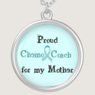 Chemo Coach Mother Silver Plated Necklace