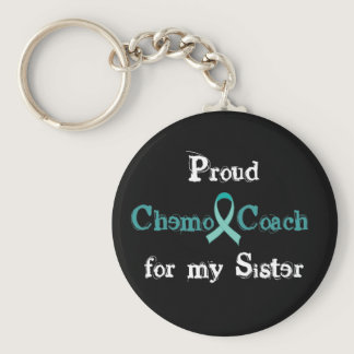 Chemo Coach Sister Keychain