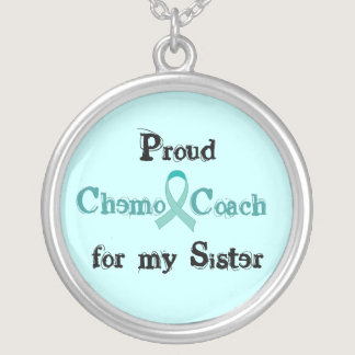 Chemo Coach Sister Necklace