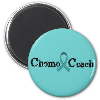 Chemo Coach - Teal Ribbon Magnet