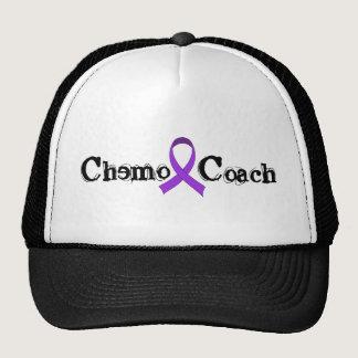 Chemo Coach - Violet Ribbon Trucker Hat