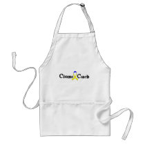 Chemo Coach - Yellow Ribbon Testicular Cancer Adult Apron