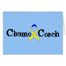 Chemo Coach - Yellow Ribbon Testicular Cancer Card