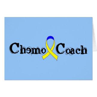 Chemo Coach - Yellow Ribbon Testicular Cancer Card