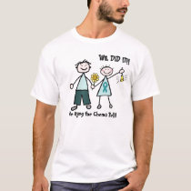 Chemo Couple Ring the Bell T-shirt