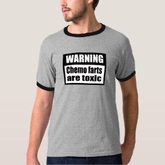 Chemo de CUIDADO farts es camiseta tóxica del
