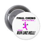 Chemo final corre mucho - cáncer de pecho pin