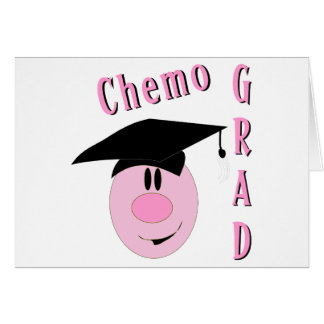 Chemo Grad Greeting Cards