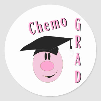 Chemo Grad Classic Round Sticker