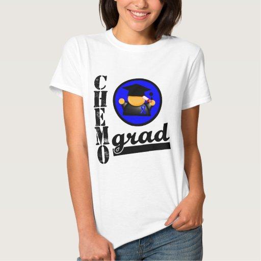 Chemo Grad Colon Cancer Ribbon Tshirt
