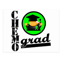 Chemo Grad Non Hodgkins Lymphoma Ribbon Postcard