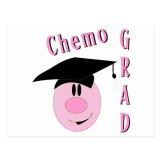 Chemo Grad Postcard