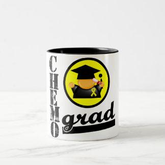 CHEMO GRAD Sarcoma Ribbon Two-Tone Coffee Mug