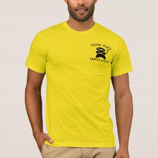 Chemo Ninja in Gold T-Shirt