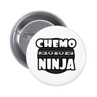Chemo Ninja Pinback Button