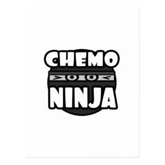 Chemo Ninja Postcard