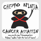 Chemo Ninja Stickers! Square Sticker